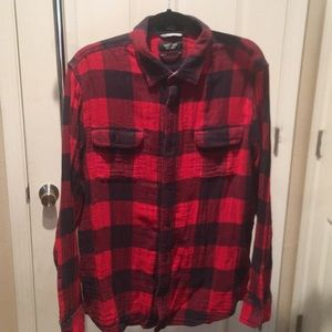 Plaid Nordstrom button down.